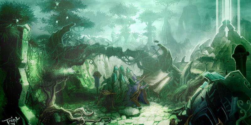 Illustration for article titled The Ghost Towns of World of Warcraft