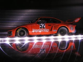 Illustration for article titled For Sn210 and El Uly: Exoto Jagermeister Porsche pics