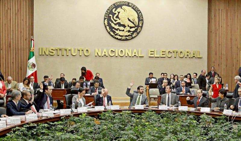 Foto: Instituto Nacional Electoral de México (INE), vía Facebook.