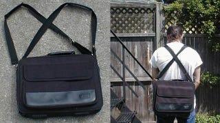 Illustration for article titled Turn a Laptop Shoulder Bag into a Backpack