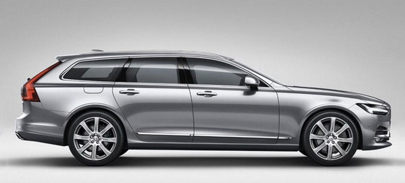 Illustration for article titled 2017 Volvo V90: This Is It