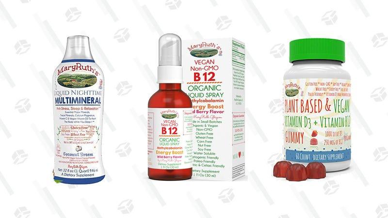 MaryRuth's Vitamins Gold Box | Amazon