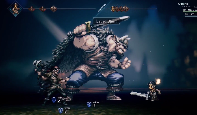 Project Octopath Traveler Demo coming today, to launch 2018