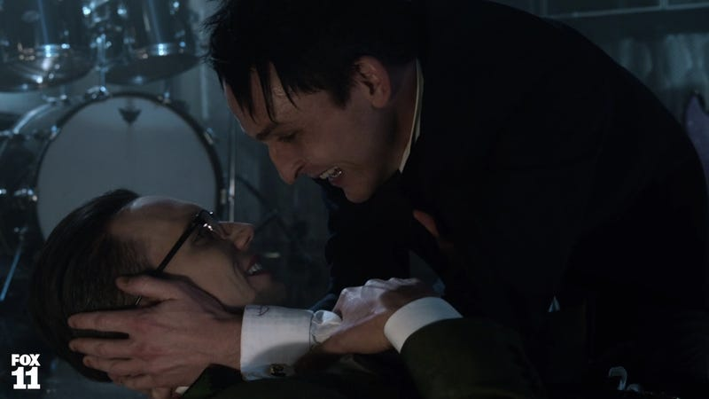 Illustration for article titled If Gotham Doesn't Make Penguin and Nygma an Actual Couple I'm Gonna Be Pissed