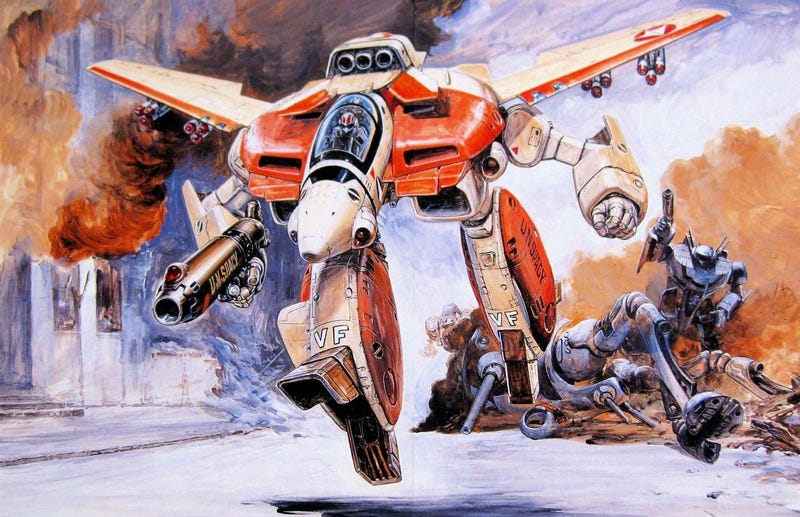 Illustration for article titled Warner Bros. pretends they're going to make a Robotech film again