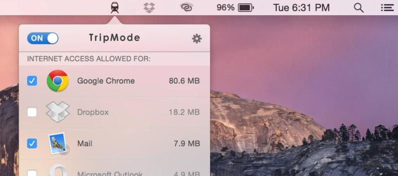 Tripmode es tu mejor amigo si utilizas la conexión del móvil en el Mac