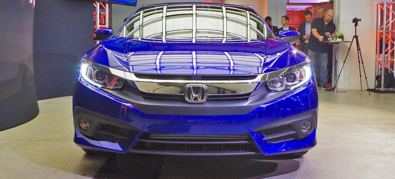 Illustration for article titled 2016 Honda Civic Coupe: This Is It