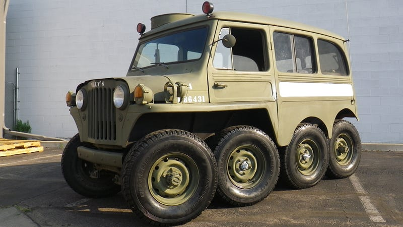 The World S Most Adorable Badass Jeep Is For Sale