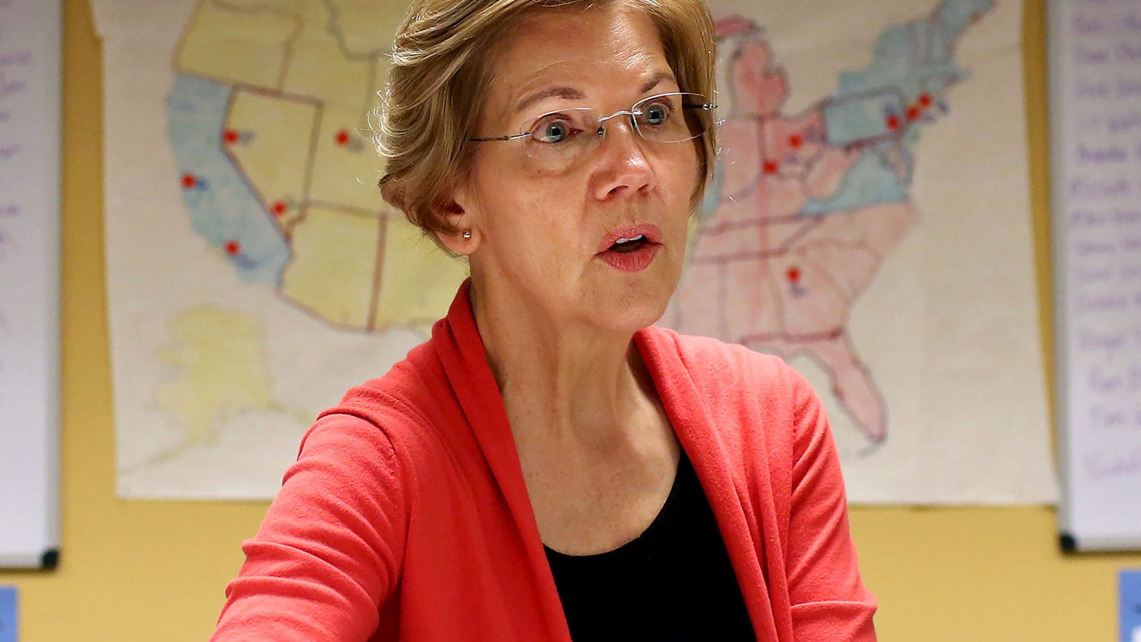 Elizabeth Warren Disappointed After DNA Test Shows Zero Trace Of Presidential Material