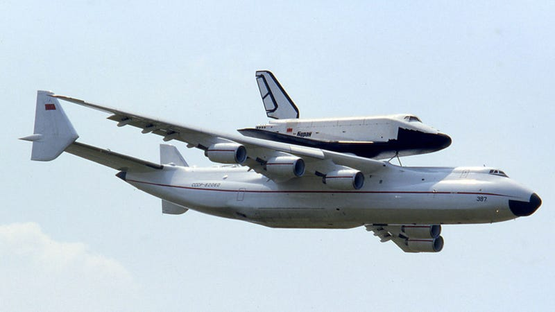 The World's Largest Cargo Plane Can Swallow a 737 Whole