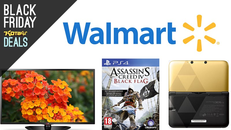 Illustration for article titled Walmart's Week Early Black Friday Deals Are Live and Gaming-Centric