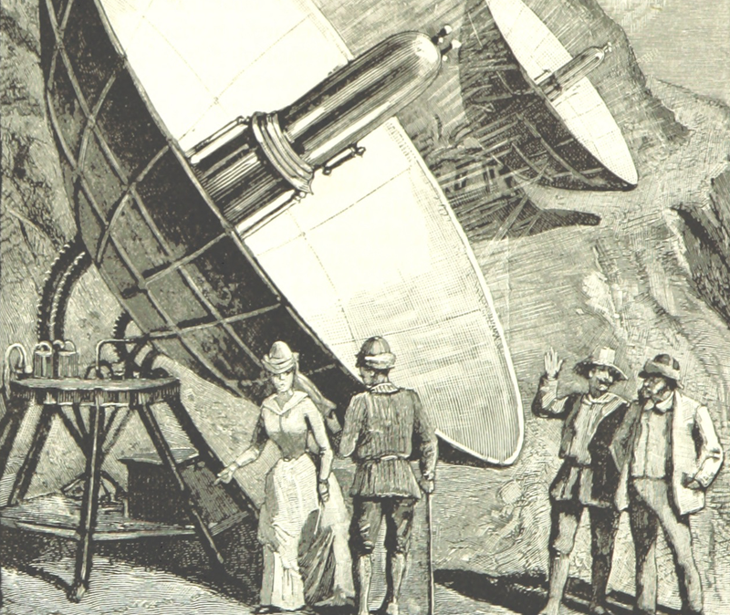 Illustration for article titled The Death Rays the Victorians Used to Conquer the Moon
