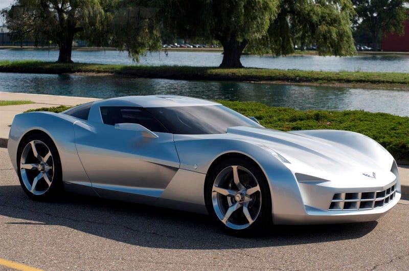 Corvette Stingray Concept Exterior