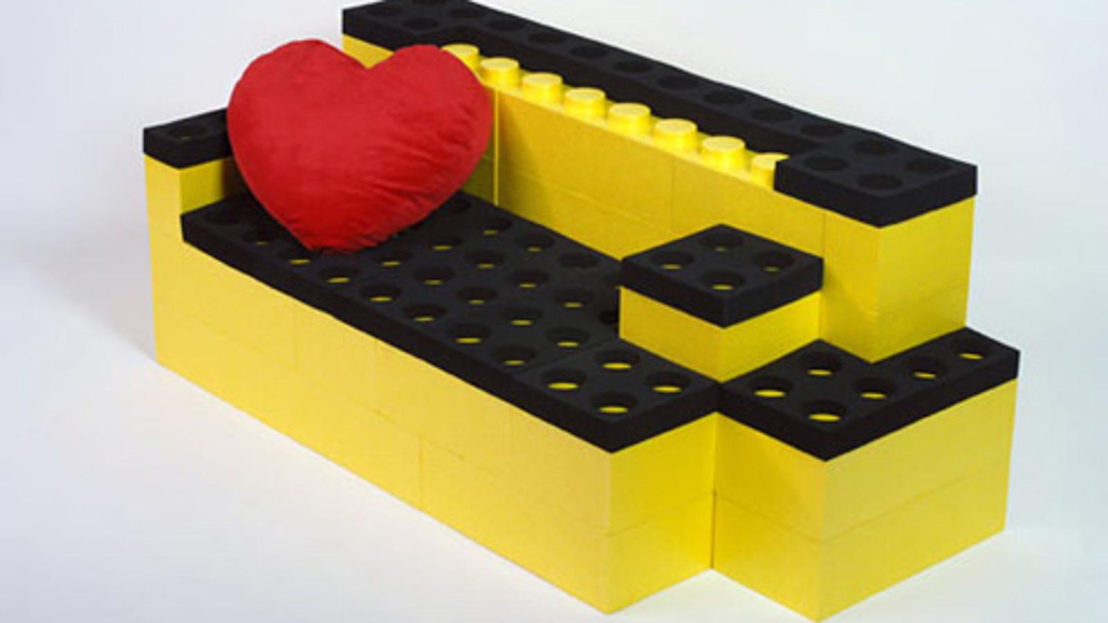 Lunablocks Build Your Own Lego Furniture