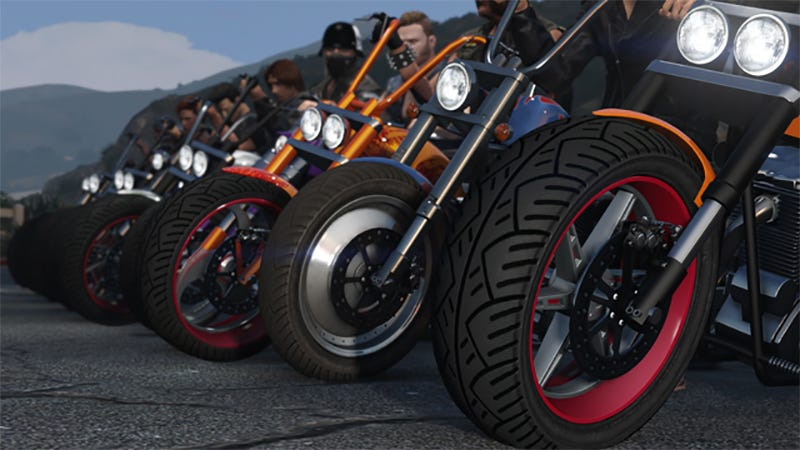 Illustration for article titled Bikers Update Brings Motorcycle Clubs To Grand Theft Auto Online