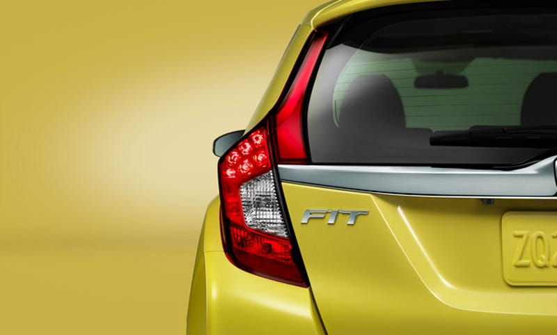Illustration for article titled You'll See The 2015 Honda Fit In Detroit Next Month