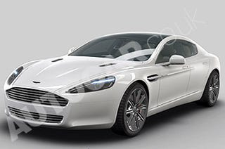 """Illustration for article titled """"Official"""" 2010 Aston Martin Rapide CAD Images Rendered"""