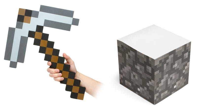 Illustration for article titled Your Minecraft Obsession, Now IRL