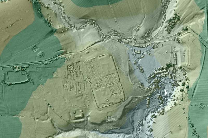 Illustration for article titled British Archeologists Have Discovered Long-Lost Roman Roads Using LIDAR
