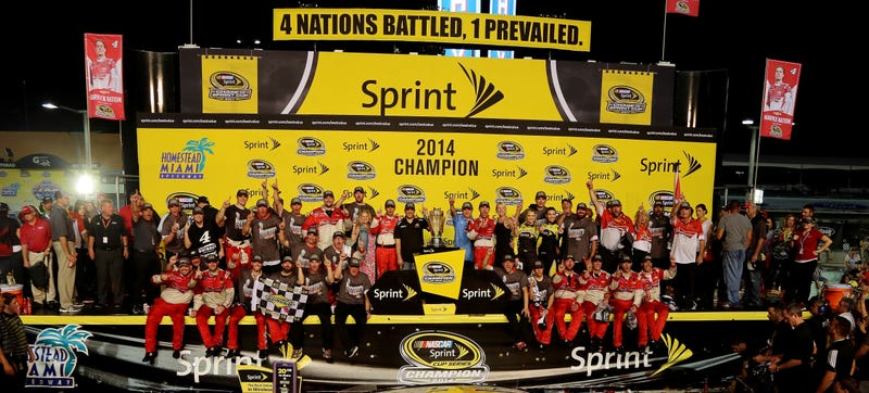 Illustration for article titled We're Not Sure What To Call The Sprint Cup After 2016