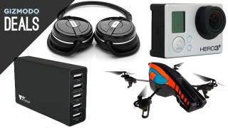 Illustration for article titled The Best GoPro, Synology NAS, Criterion Collection Sale, Parrot Drone