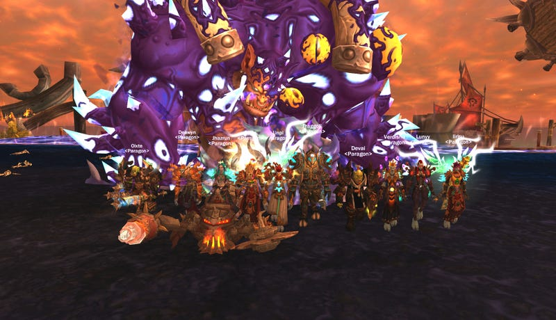 Illustration for article titled One Of The Best World Of Warcraft Guilds Calls It Quits