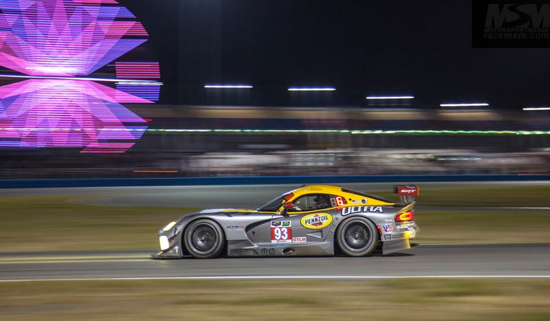 Illustration for article titled Everything Special About The Daytona 24 In One Photo