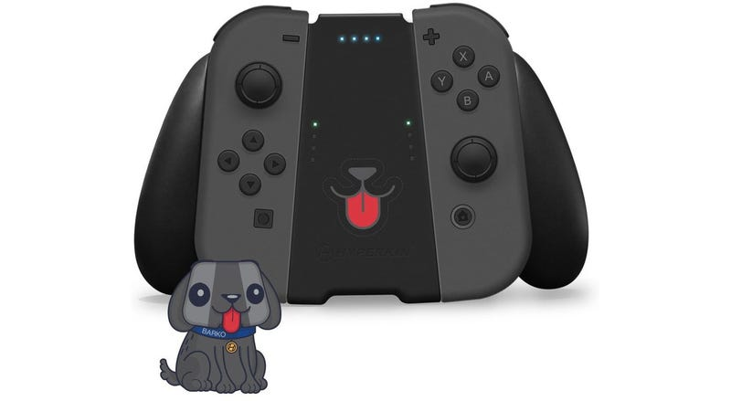 Illustration for article titled Switch Accessory Turns Your Joy-Cons Into A Very Good Dog