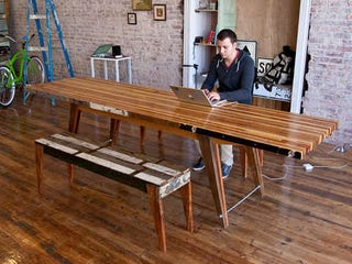 Turn Scrap Wood Into An Awesome Laminate Table