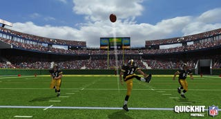 Illustration for article titled Free-to-Play NFL Game Kicks Off With 3D Presentation