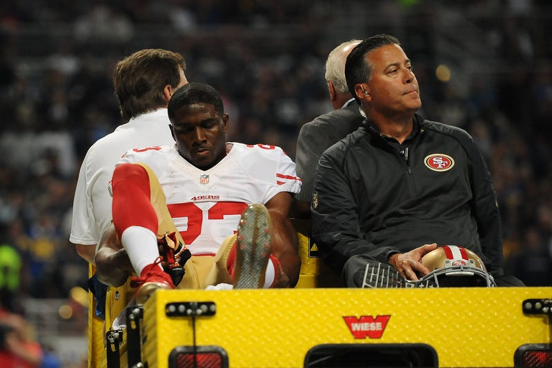 Illustration for article titled Reggie Bush Is The Latest Victim Of The Rams' Concrete Ring Of Death