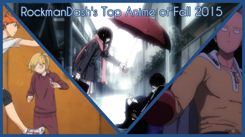 Illustration for article titled RockmanDash's Top 5 Anime of Fall 2015