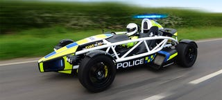 Illustration for article titled The Ariel Atom Cop Car Is The Most Ridiculous Cop Car