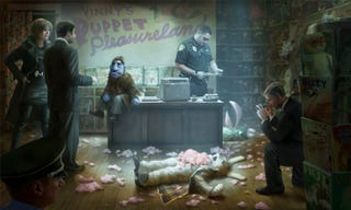 Illustration for article titled Holy Cow, Brian Henson's Puppet Noir Movie Is Actually Happening