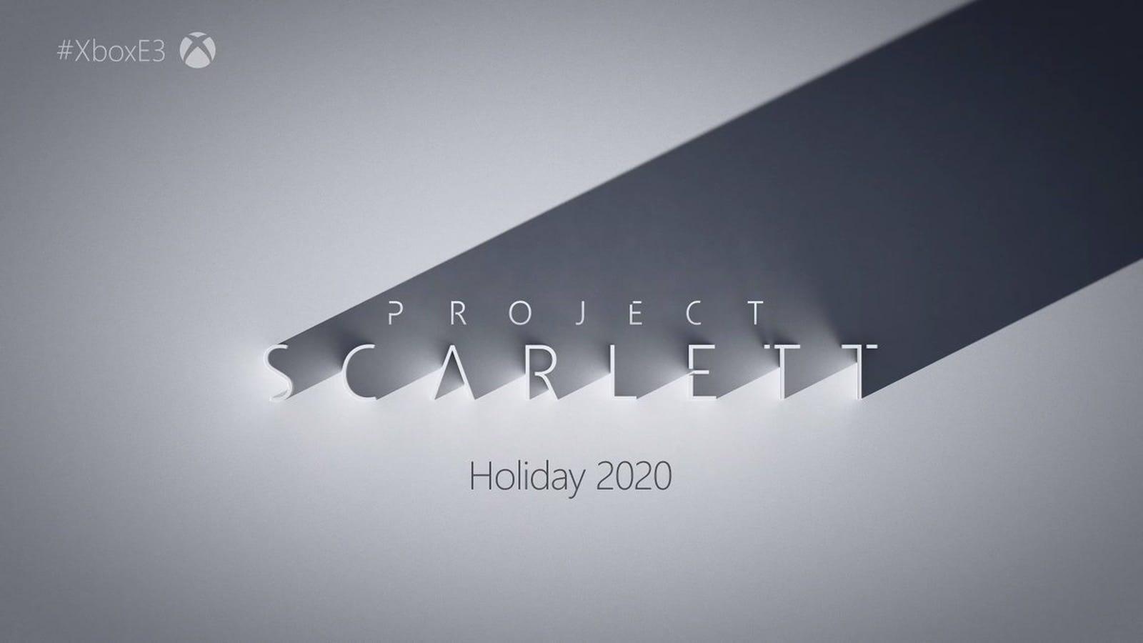 Project Scarlett es la nueva generación de Xbox, y llega en 2020
