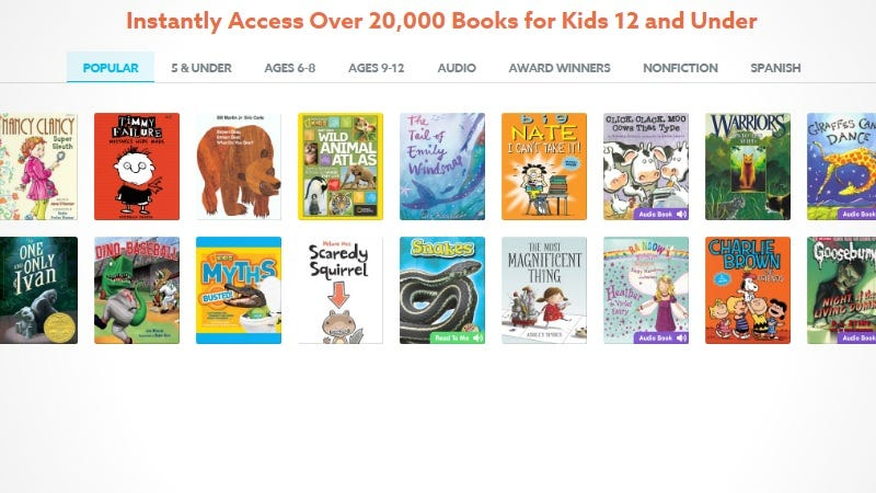 Epic! Gives Kids Unlimited Access to a Massive Library of Children's Books