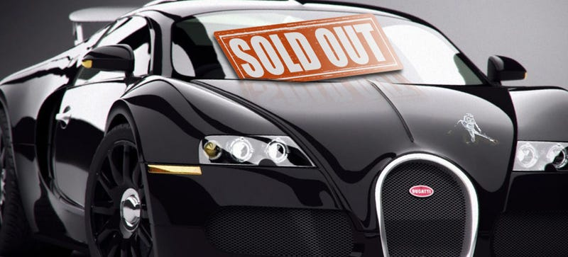 Illustration for article titled You're Too Late -- Bugatti Just Sold The Last Veyron