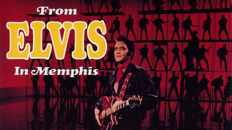 Illustration for article titled From Elvis In Memphis is the only Elvis Presley record you need