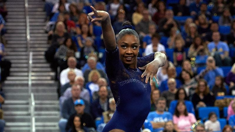 (Photo: Don Liebig/UCLA Gymnastics on Twitter)