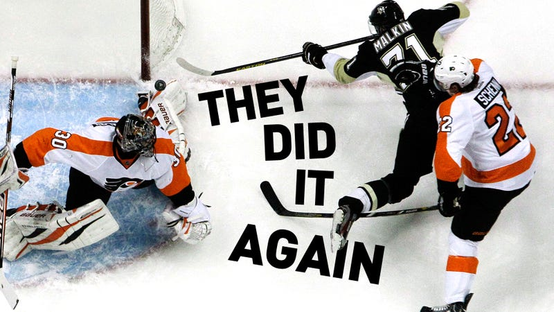 Illustration for article titled Flyers-Penguins Is The NHL's Best Rivalry