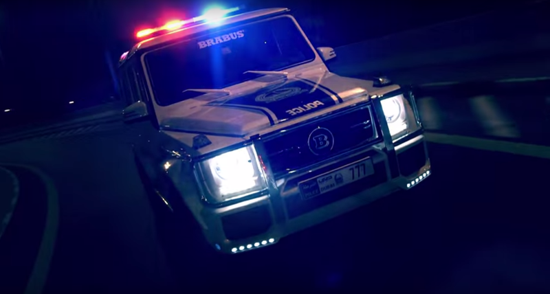 Illustration for article titled The Dubai Police Made A Film Starring Their Incredible Supercar Fleet