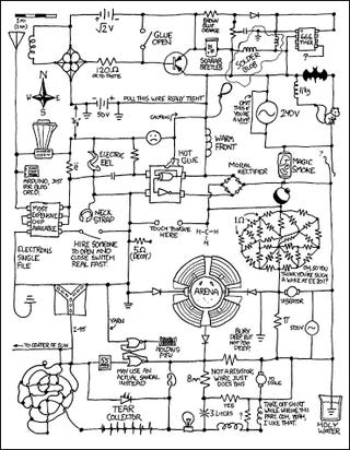 Illustration for article titled Life Inside a Circuit Diagram