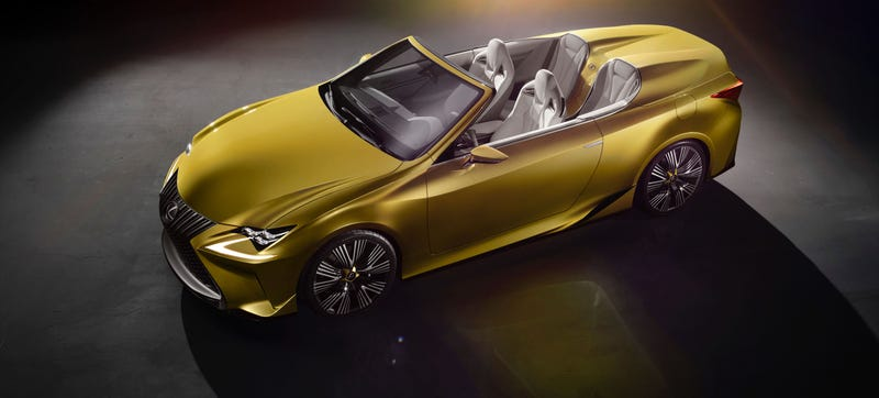 Illustration for article titled Can I Find A Picture Of The New Lexus LF-C2 That's Not Hideous?