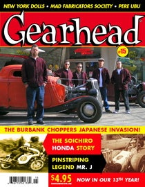 Illustration for article titled Exercises in Pluggage: New Issue of Gearhead Out Now