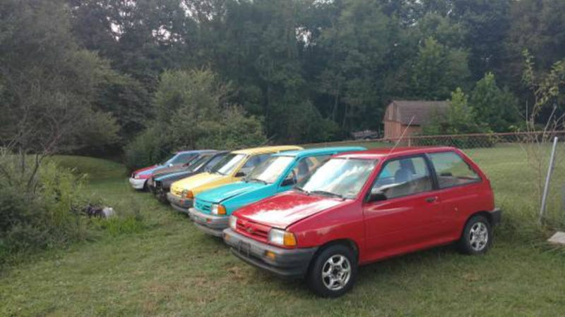 If You Ve Ever Wanted Six Ford Festivas For 900 Now S Your Chance