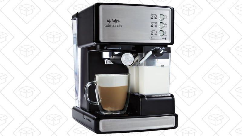 Mr. Coffee Café Barista Espresso Machine, $105