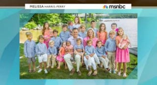 Romney family holiday cardFrom MSNBC