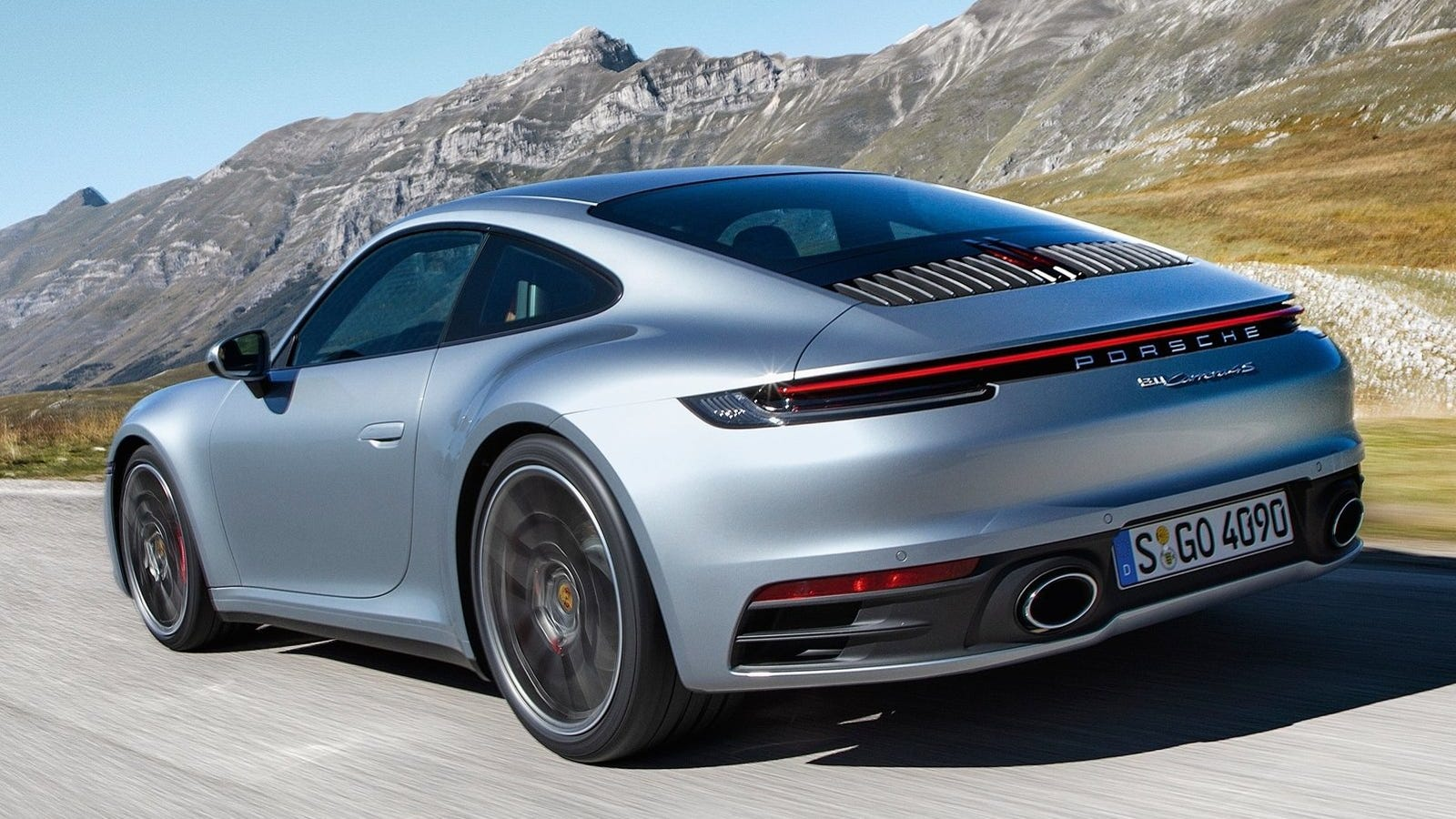 The New Porsche 911 Comes With 'Wet Mode' If You Drive Too