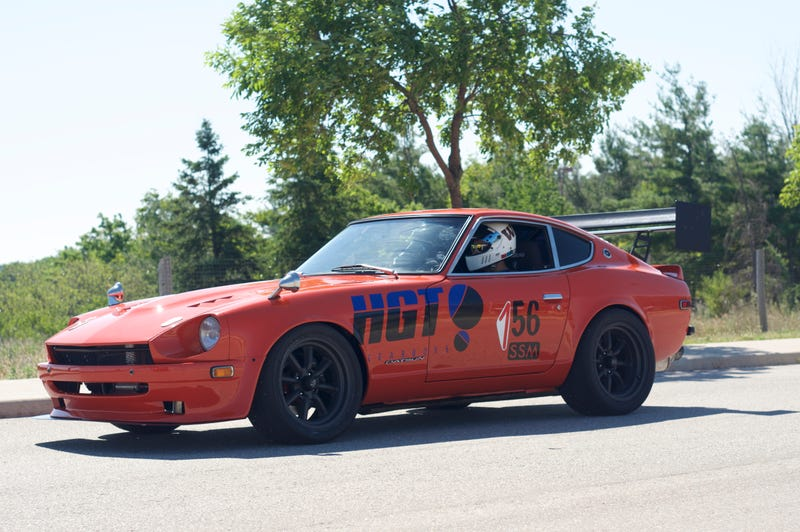 Illustration for article titled RB26 powered 240Z at autocross yesterday
