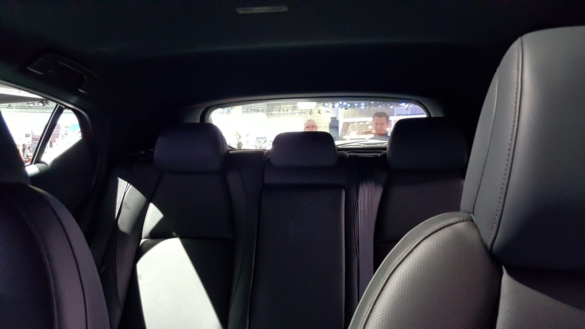 The 2019 Mazda 3 Hatch S Rear Visibility Is Precisely As Bad As You